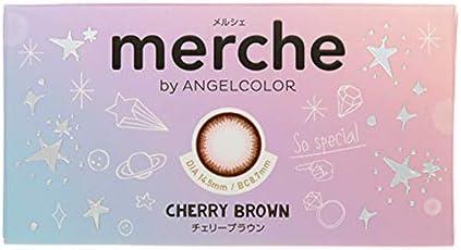 メルシェ バイ エンジェルカラー merche by Angelcolor 1ヶ月 1枚入 (度入り) -6.50 11 茶