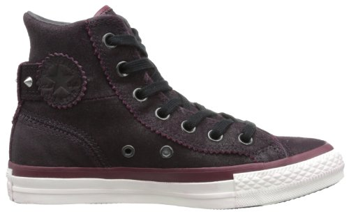 Converse - Hi Chuck Taylor All Star Collar Strap Shoes Burgundy