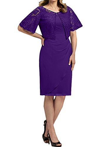 Ivydressing - Vestido - Estuche - para mujer morado 36