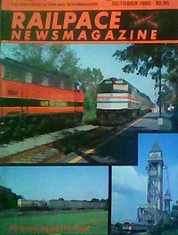 Railpace Newsmagazine (October 1992)