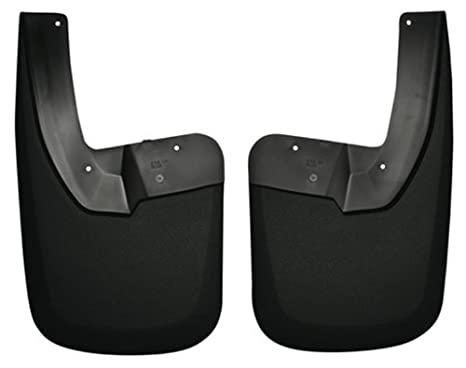 Husky Liners Custom Fit Guardabarros Trasero Para determinados modelos de Dodge RAM – Pack de 2