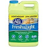 Cat's Pride Pack of 5 Fresh and Light Premium Clumping Fragrance Free Scoopable Cat Litter Jug, 15-Pound