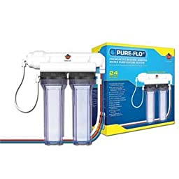 Coralife 76000 Pure-Flo II 24-Gallon Per Day 3 Stage System