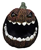 Moonrays 97027 Solar Hungry Rotten Jack-O-Lantern, Weathered Orange
