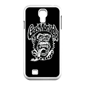 Morimo Custom Protective,Gas Monkey Garage Laster Technology TPU Cover,TPU Phone case for SamSung Galaxy S4 9500,white