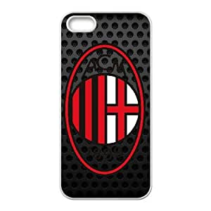 AC Milan iPhone 5 5s Cell Phone Case White JNC66087