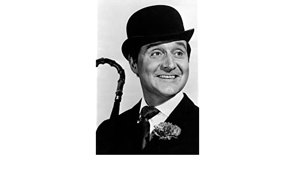 ca9344e5e8be3 Patrick Macnee in The Avengers holding umbrella bowler hat as Steed at Amazon s  Entertainment Collectibles Store