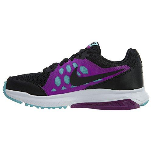 Nike Dart 11 Msl Femmes Noir / Noir-vivid Violet-copa