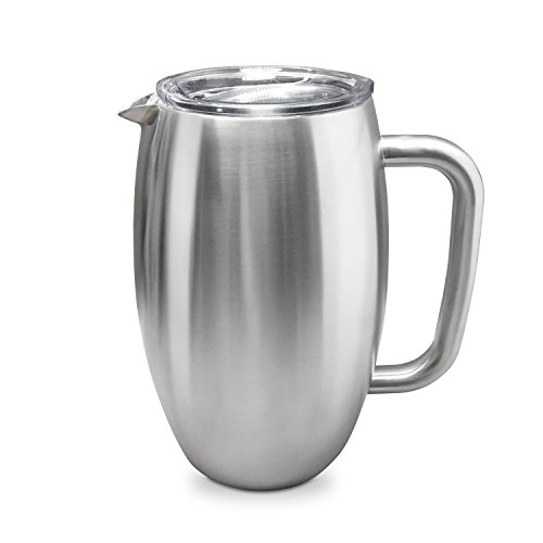 True North Coolers double walled insulated 50 oz Pitcher Stainless Steel ()