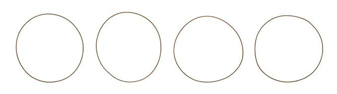 Ajusa  60002200 O-Ring Set  cylinder sleeve