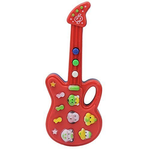 RefaxiMusical Educational Guitar Baby Kids Children Portable Music Cartoon Toy Gift (Walmart Boy Toys)