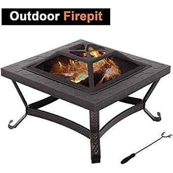 Amazon Com Landmann 28347 Big Sky Fire Pit Wildlife