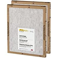 20x25x1, Filtrete Air Filter, MERV 3, by 3m (Pack of 24)