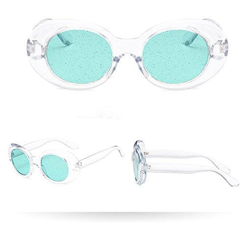 Lunettes Homme De Retro Vintage Femmes E Soleil Eyewear Paillettes Ovales Oversize q7wBwnArxY