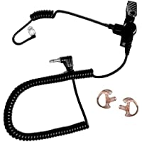 EP1069SC Fox Listen Only Earpiece with Black Acoustic Tube, 2.5mm Jack