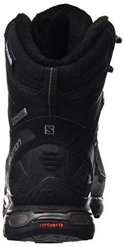 Salomon L37663500 - Botas de senderismo Hombre Negro (Black /         Black /         Autobahn)