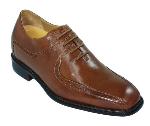 TOTO Increasing - F6701 - 3 Inches Taller - Height Increasing TOTO Elevator Shoes (Brown Dance Dress Shoes) Parent B004U7O3LQ 94142d