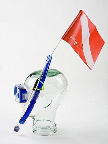 - Trident Snorkel Attached Dive Flag