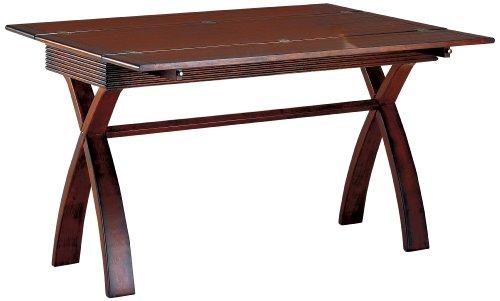 (Furniture of America Guarda Expandable Sofa Table, Dark Cherry )