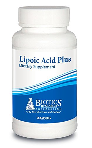 Biotics Research Lipoic Acid Plus– Alpha-Lipoic Acid, Vitamin C, Powerful Antioxidant, Supports Healthy Blood Sugar, Glucose Metabolism, Promotes Eye Health.  90 caps