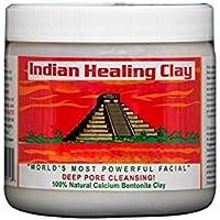 Aztac Secrat Indian Healing Clay 1lb - Calcium Bentonite Clay Natural Face Mask
