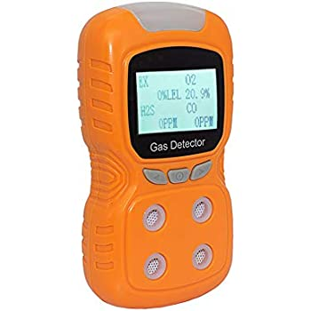 MSA 10092521 ALTAIR Single Gas Detector, Hydrogen Sulfide ...