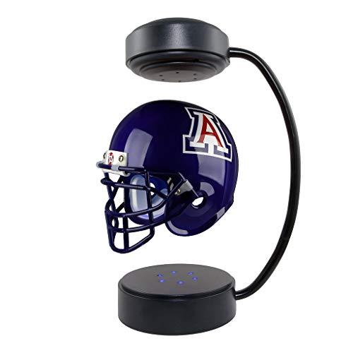 - Arizona Wildcats NCAA Hover Helmet - Collectible Levitating Football Helmet with Electromagnetic Stand