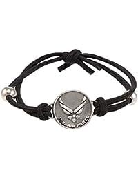 United States Military Charm Adjustable Bracelet