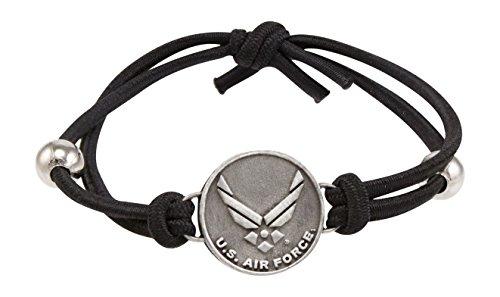 Son Sales United States Air Force Charm Adjustable Bracelet ()