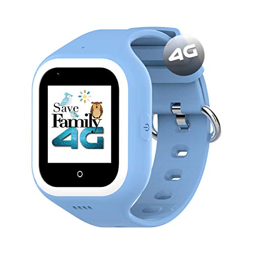 🥇 Reloj-Smartwatch 4G Iconic con Videollamada & GPS instantáneo para niños SaveFamily. Reloj con WiFi