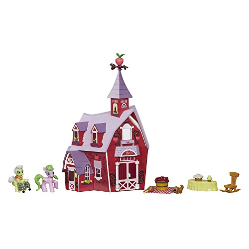 My Little Pony Friendship is Magic Collection Sweet Apple Acres Barn Pack (Discontinued by manufacturer)]()