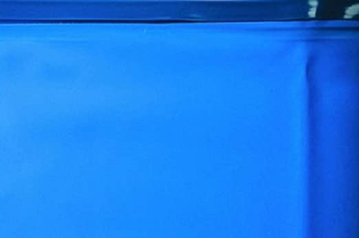 GRE - Piscina ocho modelo VARADERO con pared de acero blanco ...