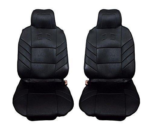 2x Sitzauflagen vordere Auto Sitzaufleger Schwarz Autositzauflage Autositz Schutz Autobits.de GmbH