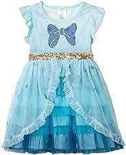 VIKITA Kids Girl Tutu Girl Sleeveless Casual Summer Party Dress for 2-8 Years