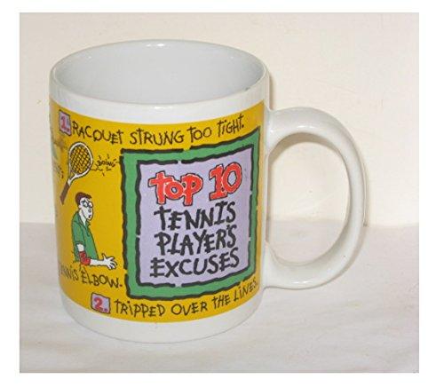 Vintage Stanley Papel Statements Coffee Cup - Top 10 Tennis Players Excuses Mug