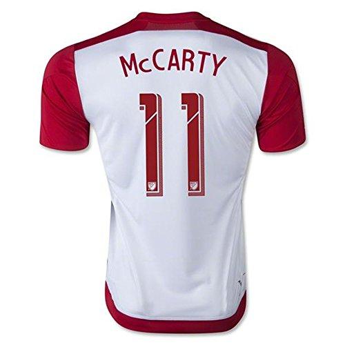 同情外出シャワーAdidas McCARTY #11 New York Red Bulls Home Jersey 2016 (Authentic name & number) / サッカーユニフォーム ニューヨーク?レッドブルズ ホーム用 マッカーティ