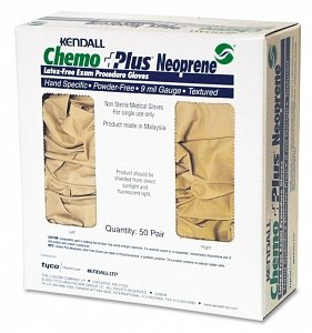 Latex-Free Neoprene Chemobloc Glove by Kendall Size Large by DSS