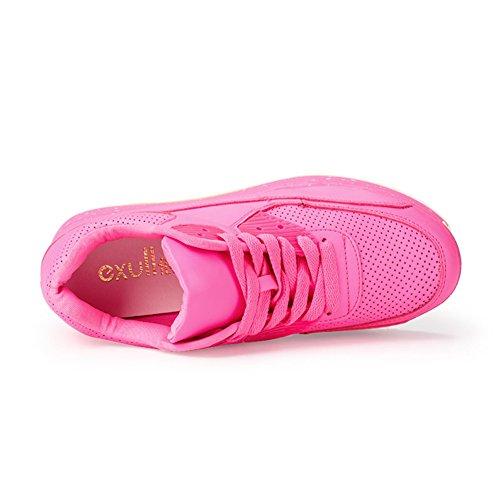 Au Dames De Pure Et Printemps Loisirs Avec Des C Couleur Plate forme Chaussures xSArfqwtS