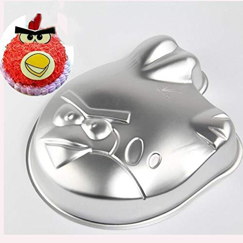 Anode aluminum alloy cake molding mold, baking sheet