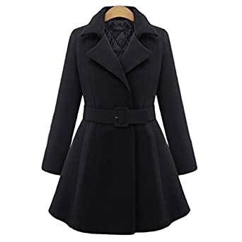 Amazon.com: Autumn And Winter Female Overcoat Slim Thin