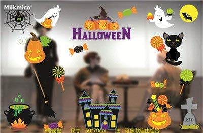 2017 New Creative Halloween Party Decorations Witch Ghosts