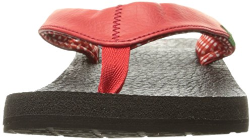 Sandales Yoga Mat femme Rouge Vif Sanuk wHEqaCa