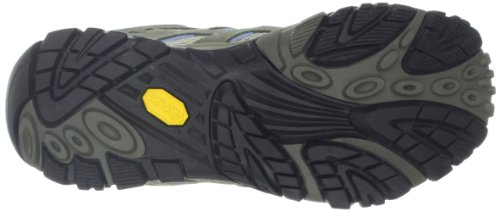 Merrell MOAB WATERPROOF J89496 - Zapatillas de deporte de cuero para mujer Dusty Olive