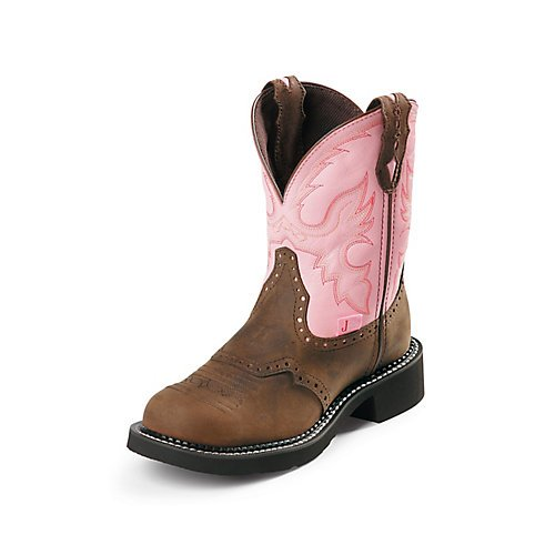 Justin Ladies Gypsy Steel 8in Work Boots