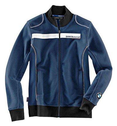 BMW Genuine Motorcycle Riding Bmw Logo Unisex Sweat-Shirt Jacket L Blue