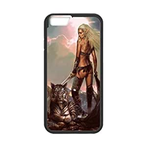 Powerful tiger High Quality Pattern Hard Case Cover for For iphone 6 5.5 Case FKGZ442535