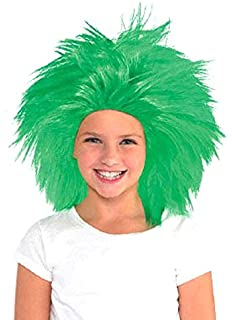 Game Ready Team Spirit Party Crazy Wig Accessory, 1 Pieces, Made from Polyester,