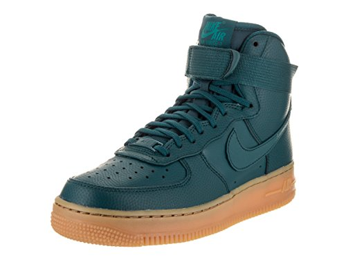 Nike Air Force 1 Hi Se Basketbalschoen Middernacht Turkoois
