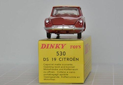Dinky Toy Cars - CITROEN DS 19 ATLAS DINKY TOYS nummer 530 - 1:43 NOREV DS19 Citroën