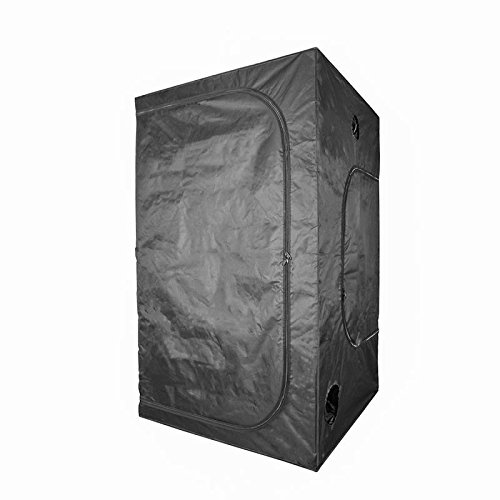 Growtent Garden Grow Tent for Indoor Plant Growing 48''x48''x80'' 600D with Removable Floor Tray… by Growtent Garden